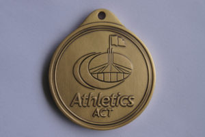 Athletics Act Medals Backing