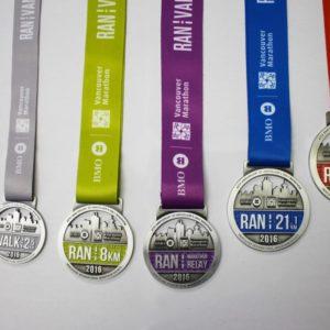 Marathon Medals 2016