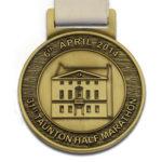 Taunton Half Marathon medals
