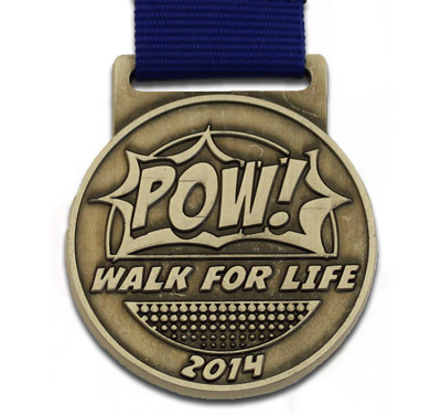 walk for life medals