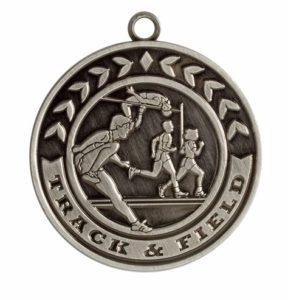 Award Track Men Custom Medals