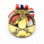 Wonderful Fencing Medal