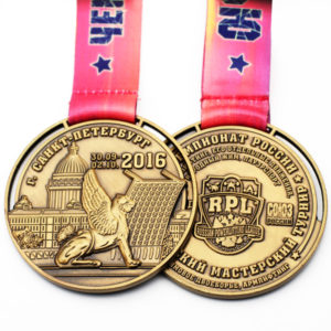 Custom Games gold medals