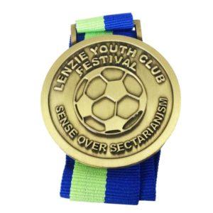 Custom Golden ball Medals