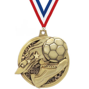 Custom Golden Boot Medals