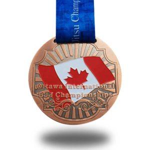 Custom jujitsu Medals