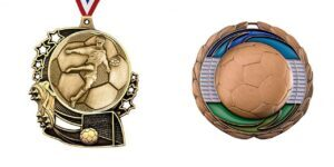 Custom made football medals loved by the whole people