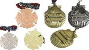 Custom Olympic medals from all over the worlds