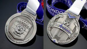 Custom sports heroes Medals