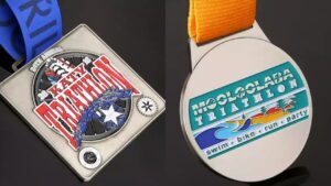 Custom the most attractive Triathlon Medals