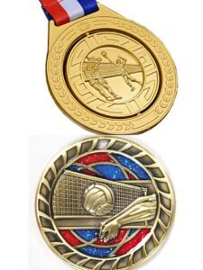 Custom the medals of excellent match volleyball