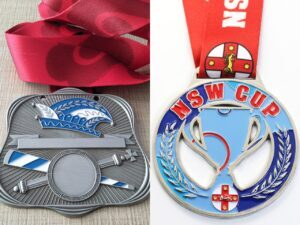 Custom the NSW Cup football Medal