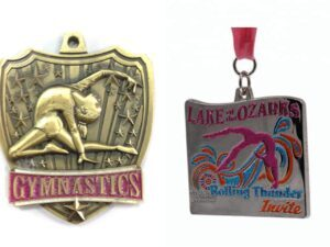 Custom women's Gymnastics Medals