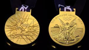 Customized Games medals with various logos