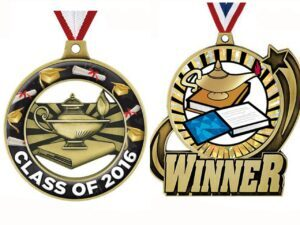 High quality customized excellent learning Medals