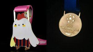 Custom made high quality enamel Medals