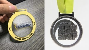 Customized high quality transparent Medals