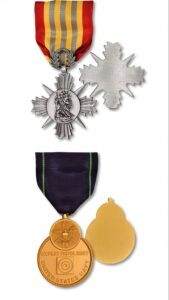 High quality customized military Hero Medals