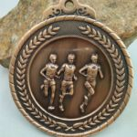 Running Race School Sports Medal