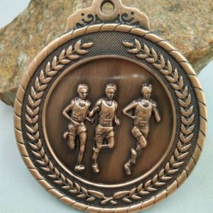 Running Race School Sports Medal