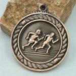 Running School Sports Medal