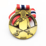 Wonderful Fencing Medal